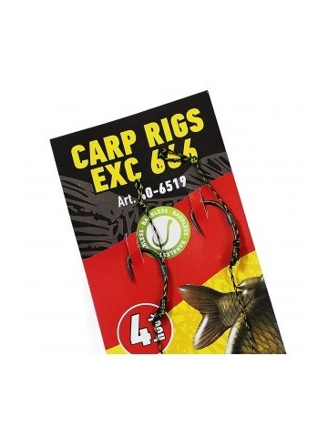 Extra Carp Rig EX 666 Barbless