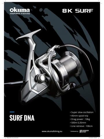 Naviják Okuma Surf 8K 8000 FD