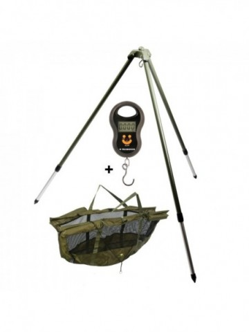 Stojan na vážení Weigh Giants fishing Tripod +...