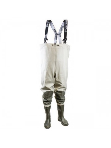 Brodící kalhoty Mistrall khaki - šedá